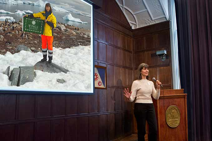 Rosemarie Keough, Women of Discover Forum, The Explorers Club October 2014
