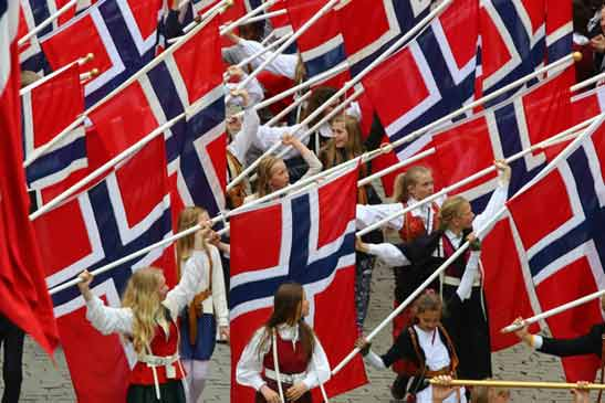 Children's Parade Oslo Norway