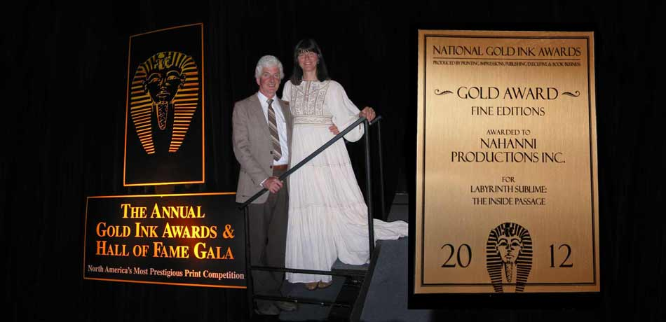 Pat and Rosemarie Keough honoured with the Gold Ink Award for Fine Edition Books, and inducted into the Gold Ink Hall of Fame 2003